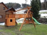 dětské hřiště - chata k pronajmutí Stará Ves u Rýmařova