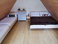 Apartmán číslo 1 ložnice - 4 jednolůžka - k pronájmu Dolní Moravice