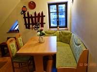 apartmán číslo 5, jídelna