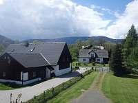 Pohled z okna na Jeseníky - chata k pronajmutí Domašov