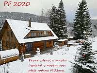 PF 2020 - chalupa ubytování Ostružná