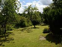 zahrada - chalupa k pronájmu Janov