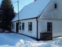 zima - chalupa ubytování Janov