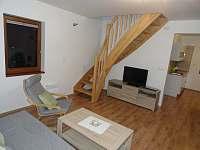 Obývací pokoj - chata k pronajmutí Dolní Moravice
