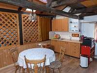 apartmán A -kuchyňka - pronájem chalupy Vrbno pod Pradědem - Mnichov