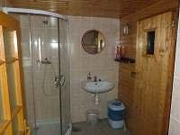 koupelna a sauna - chalupa k pronajmutí Vrbno pod Pradědem - Mnichov