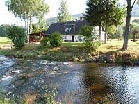 řeka pro koupání a osvěžení - pronájem chalupy Vrbno pod Pradědem - Mnichov