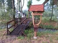 vstup k areálu - chalupa k pronajmutí Vrbno pod Pradědem - Mnichov