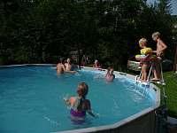 Bazén - chalupa k pronájmu Nové Losiny