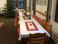 Chata Zuzana - příprava na Advent - k pronajmutí Přemyslov