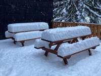 Chata Zuzana - Zima 2021 - k pronajmutí Přemyslov