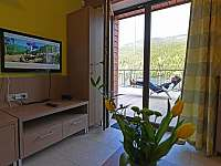 Kuchyň, obývací pokoj - ubytování Dolní Morava