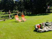 zahrada - apartmán k pronájmu Jeseník