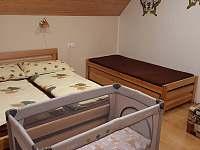 ložnice 2 - pronájem chalupy Lipová-lázně