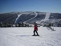 lyžování na Červenohorském Sedle - Lipová-lázně