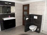 koupelna - chalupa k pronajmutí Nové Vilémovice