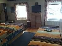 čtyřlůžkový pokoj - ubytování Dolní Moravice