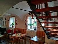 Schodiště do pokojů - Dolní Moravice