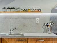 Kuchyně v patře - Široká Niva