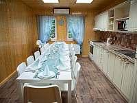 Kuchyně - rozložené stoly
