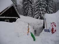 Zima 2011 - pronájem chalupy Josefův Důl