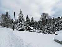 Zima 2017 - chalupa k pronajmutí Josefův Důl