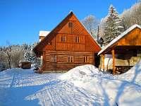 Kabikula pod sněhem - chalupa k pronájmu Pláně pod Ještědem