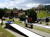 Minigolf v Tanvaldu