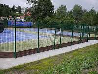 tenisové kurty v obci - pronájem chalupy Josefův Důl