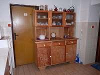 Společná kuchyň - chata k pronajmutí Bedřichov