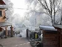 Farma v zimě