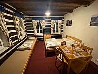čtyřlůžkový pokoj se soc. zařízením - ubytování Josefův Důl - Dolní Maxov