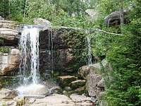 vodopády Jedlová - ubytování Josefův Důl - Dolní Maxov
