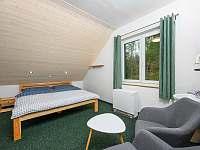 Dvou lůžkový pokoj - ubytování Lučany nad Nisou - Jindřichov