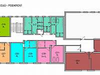 Schéma pokojů 2.p - Lučany nad Nisou - Jindřichov