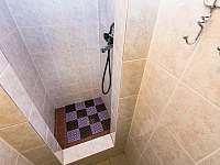 Sprchový kout - chata k pronajmutí Josefův Důl