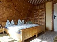 Ložnice - chata ubytování Vlastiboř
