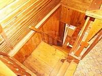 Schodiště - chata ubytování Vlastiboř