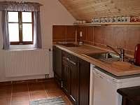 Kuchyňka 1. patro - Desná v Jizerských horách
