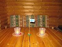 Detail v obývacím pokoji - v přízemí