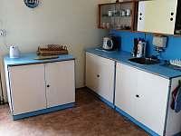 kuchyně - pronájem chaty Liberec