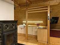 Kuchyňský kout - apartmán k pronajmutí Albrechtice v J. h. - Mariánská Hora