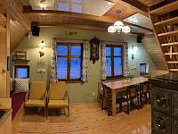 Obývací pokoj s posezením - Albrechtice v J. h. - Mariánská Hora