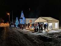 Rozsvěcení Mariánskohorského vánočního stromku - apartmán k pronájmu Albrechtice v J. h. - Mariánská Hora