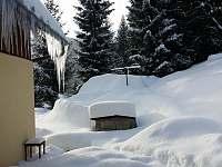 zahrada v zimě - Desná III