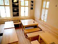 společenská místnost - chata k pronajmutí Josefův Důl - Dolní Maxov