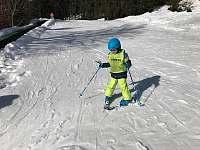 Ski Lucifer - dětský vlek v Josefově Dolu -