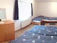 Ložnice- samostatná, manželská postel, 2x jednolůžko - Lučany nad Nisou