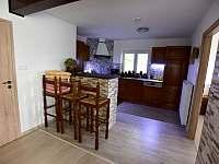 Kuchyň - pronájem chalupy Hodkovice nad Mohelkou- Záskalí