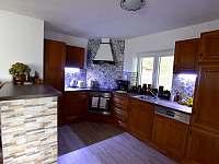 Kuchyň - chalupa k pronajmutí Hodkovice nad Mohelkou- Záskalí